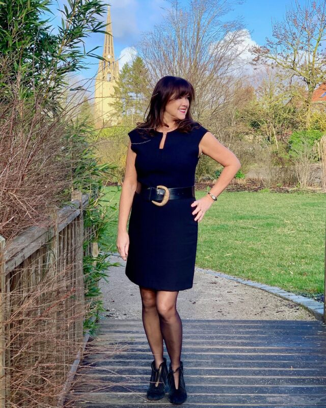 julia my style over 50 black dress