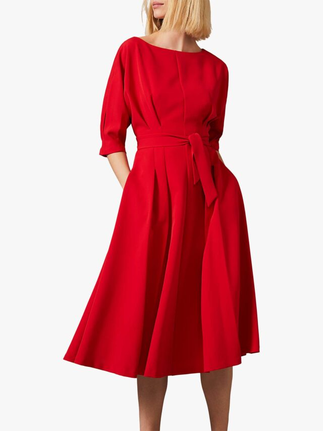 lady in red over 50 image