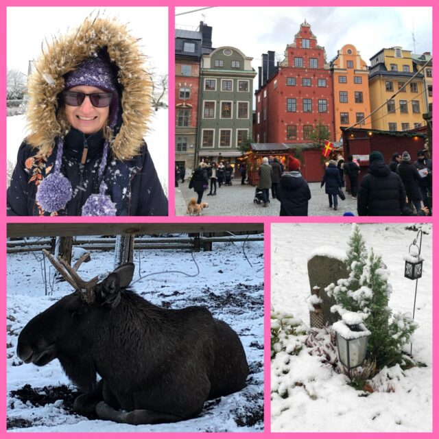 Sue Moorcroft travels across Sweden to research for her new book image