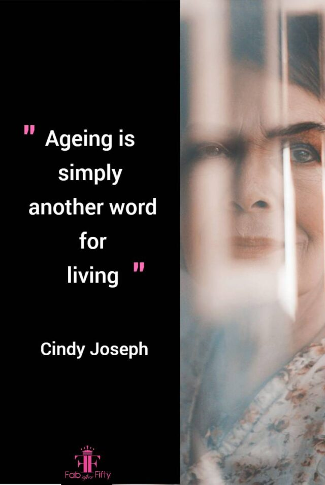 cindy joseph quote about age image