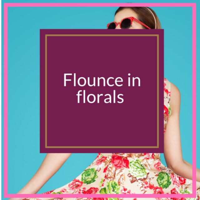 tips for wearing florals over 50 image