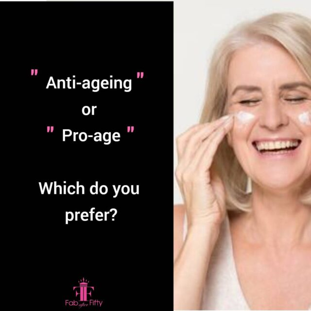 do you prefer anti ageing or pro age image