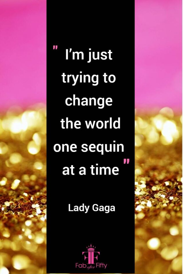 style over 50 change the world one sequin at a time image