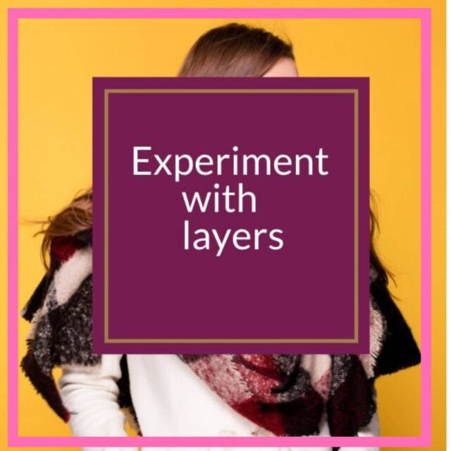 how to experiment with layers over 50 image