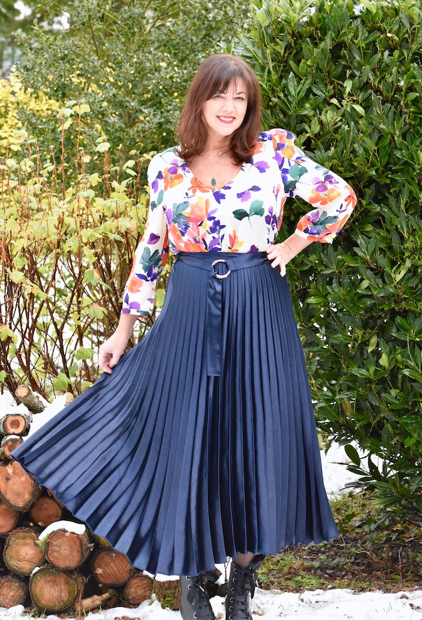 wearing florals over 50 image