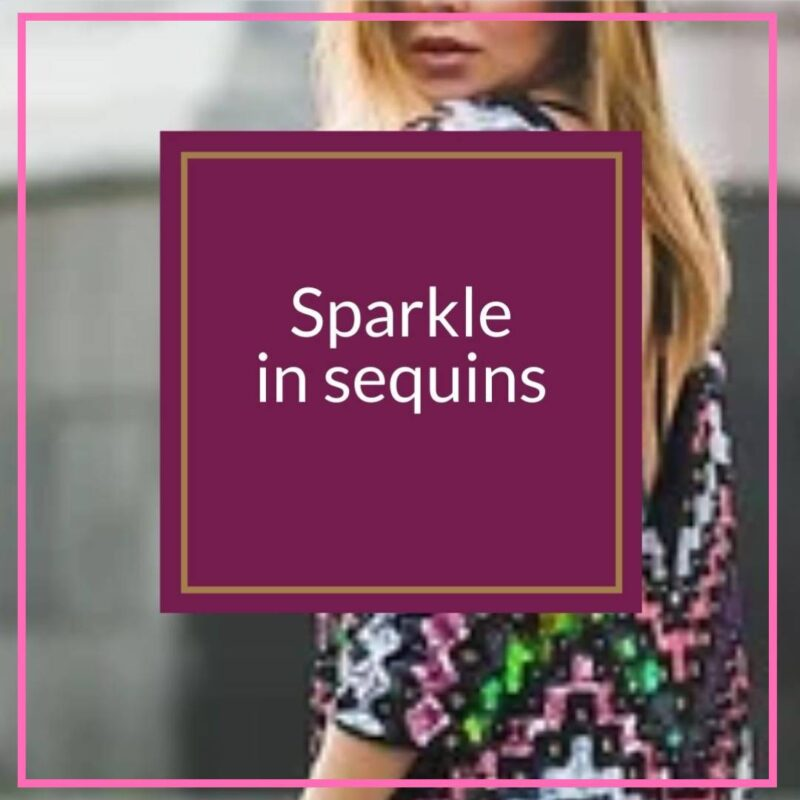 tips for wearing sequins over 50 image