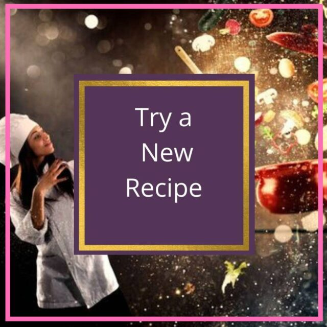 try a new recipe january challenge iamge
