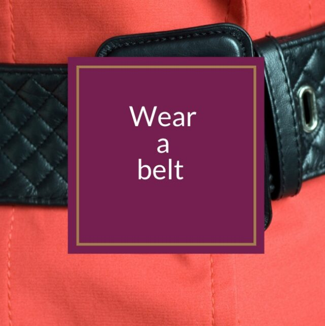 how to wear a belt and be stylish over 50 image
