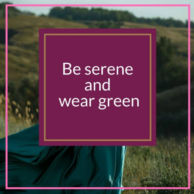 tips for wearing green over 50 image