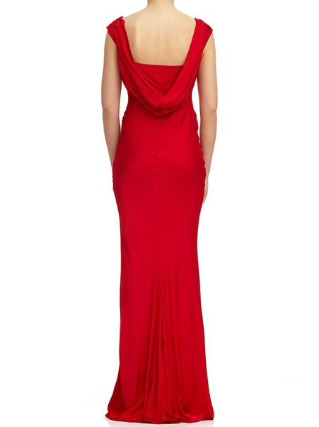 50plus style red maxi dress image