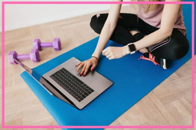 top tips online exercise class image