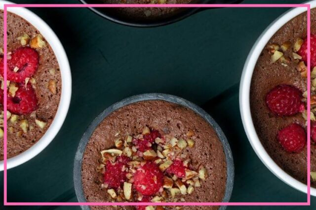 vegan chocolate mousse recipe image