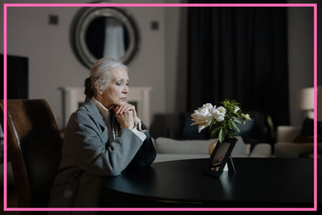 coping with loss of a loved one image