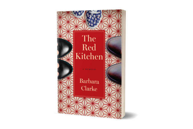 the red kitchen by Barbara Clarke image