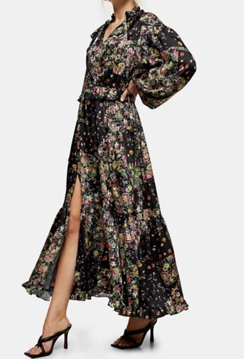 style over 50 floaty maxi with sleeves image