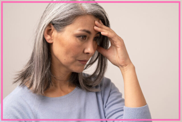 link between menopause and depression image