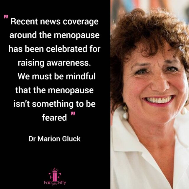 menopause not to be feared quote image