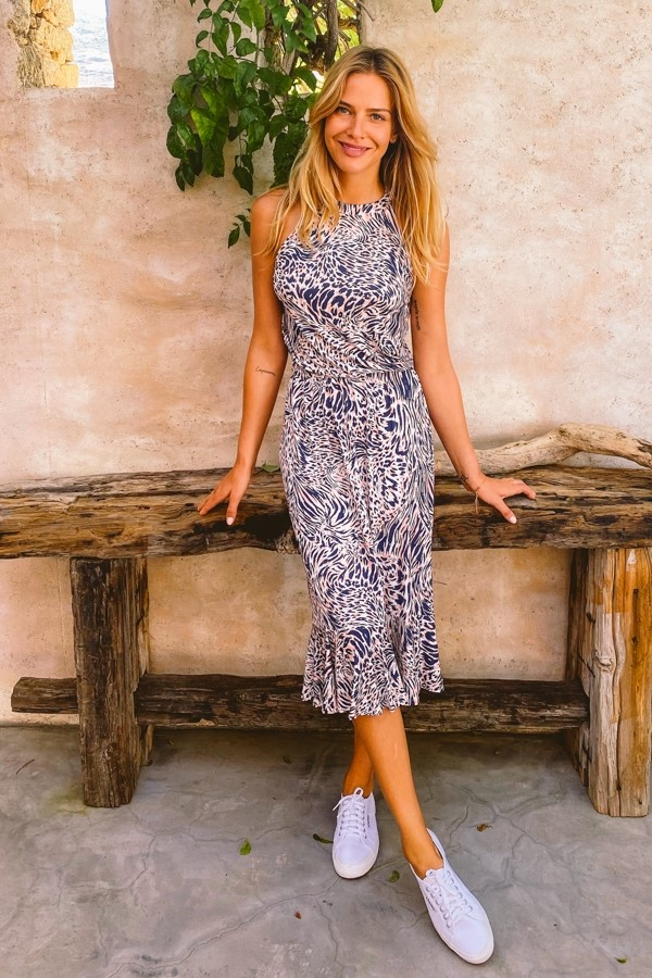 staycation over 50 sun dress image